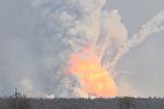 Пожар под Харьковом