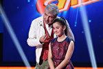 Участница проекта Ты супер! Нана Вардзелашвили и певец Сосо Павлиашвили