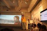 Презентация выставки работ Александра Журавлева