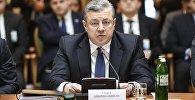 Премьер-министр Грузии Георгий Квирикашвили на саммите ГУАМ в Киеве