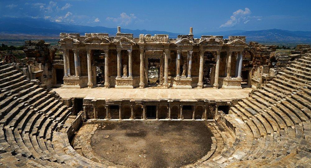 ანტიკური იეროპოლისი თურქეთში