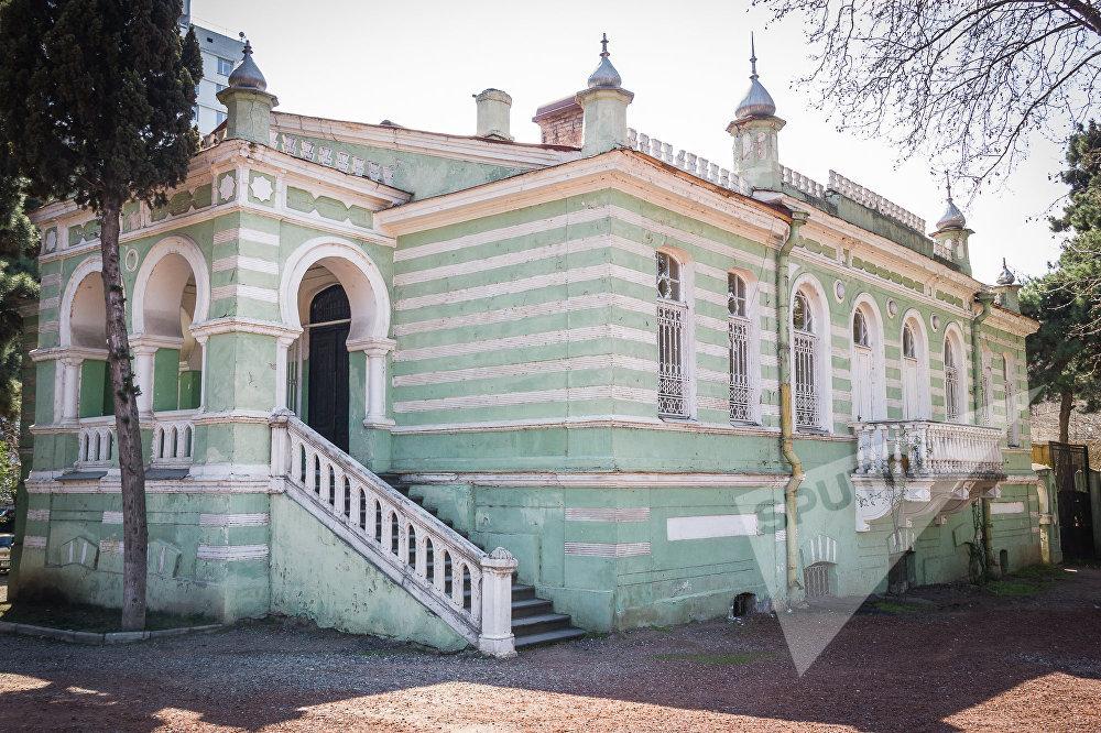 Дом, построенный дипломатом Ага-Мирфетах Муштаидом