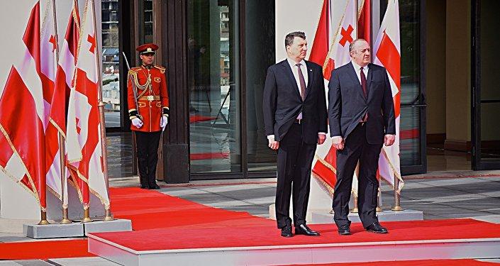Маргвелашвили попросил президента Латвии защищать интересы Грузии вНАТО