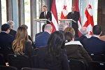 Президенты Грузии и Латвии пообещали углубить сотрудничество двух стран