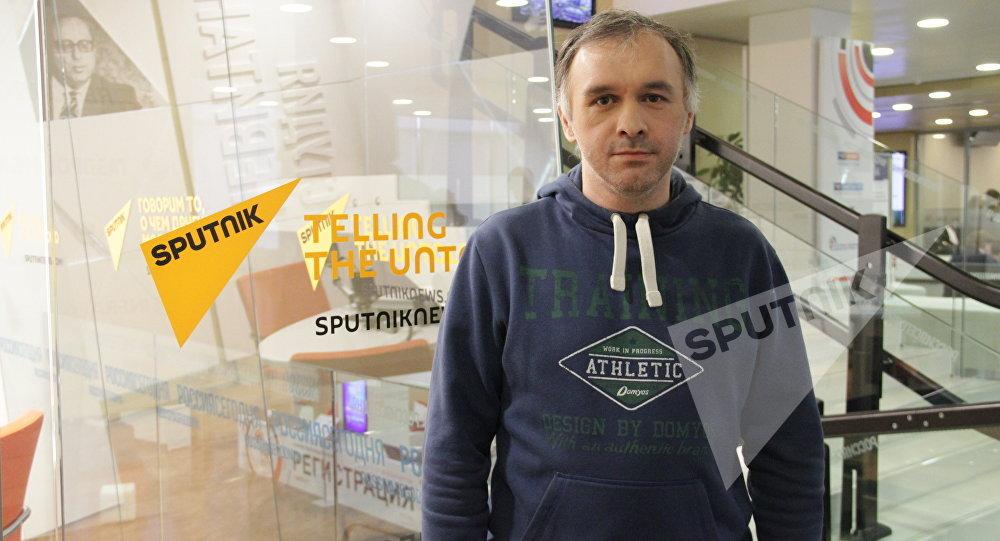 Спортивный обозреватель Евгений Зырянкин