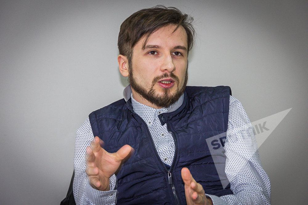 Дизайнер Александр Имнадзе