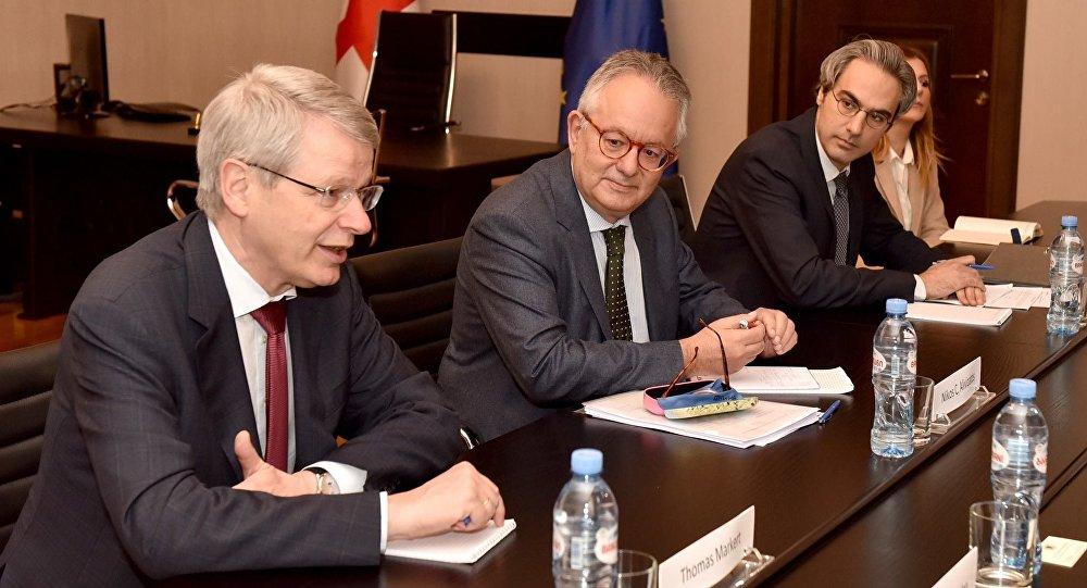 Делегация Венецианской комиссии в Грузии