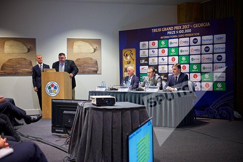 Пресс-конференция организаторов международного чемпионата по дзюдо