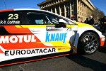 Тбилисцам показали гоночные болиды TCR IS
