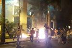 Акции протеста в парагвайском Асунсьоне