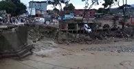 Последствия наводнения в Колумбии