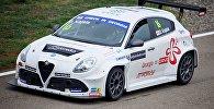 Кузовные автогонки международной серии TCR IS на автодроме в Рустави Rustavi International Motorpark