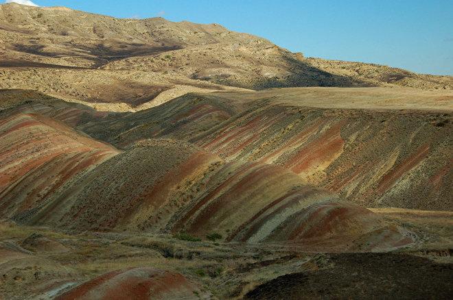 Пустынный регион Грузии