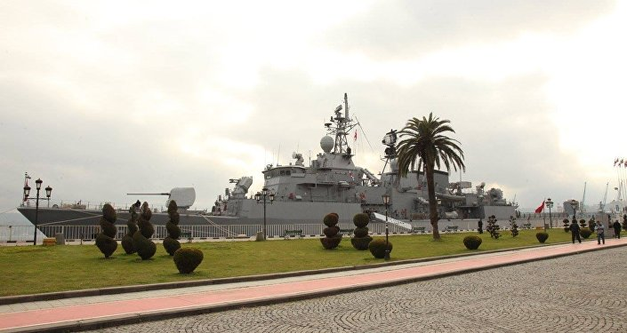 თურქეთის სამხედრო–საზღვაო ძალების გემი