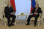 Путин и Лукашенко: совместное заявление в связи со взрывом в Петербурге