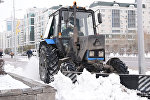 Снежная весна в Астане прибавила забот коммунальщикам