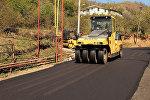 В Аджарии приводят в порядок дороги: кадры ремонтных работ