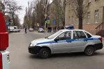 Ситуация возле школы в Ростове-на-Дону, где произошел взрыв
