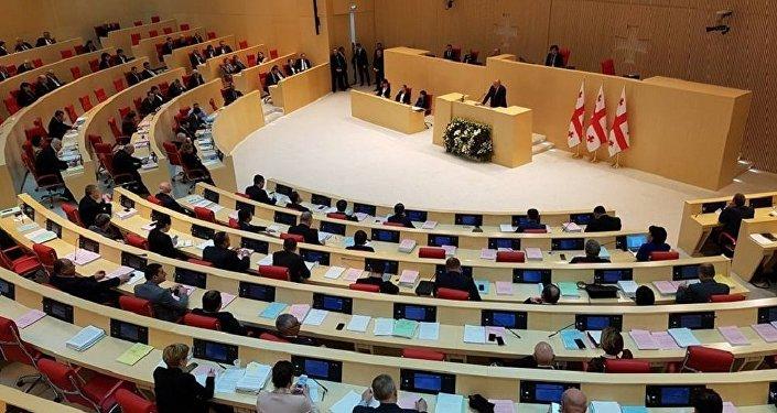 Ежегодное выступление президента Грузии Георгия Маргвелашвили в парламенте