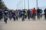 Батумский бульвар заполнили велосипедисты: велопробег в курортном городе