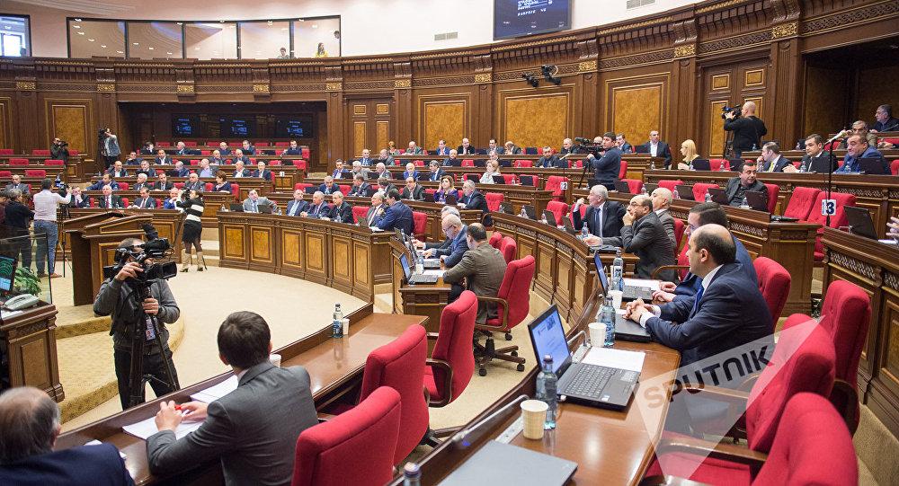 Вармянский парламент идут 4 силы— заключительные результаты