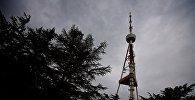 Тучи над Тбилисской телевышкой