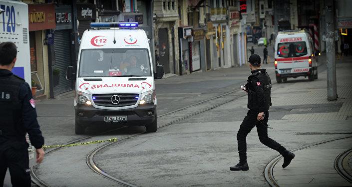 სასწრაფო სამედიცინო დახმარების ავტომობილი თურქეთში
