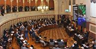Мэр Тбилиси Давид Нармания выступил в сакребуло
