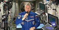 Видеопоздравление с Днем космонавтики с борта МКС