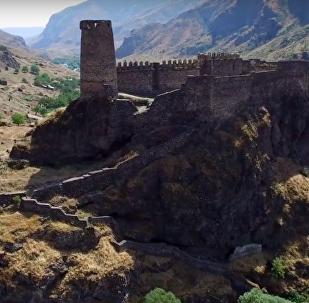 Средневековая крепость Хертвиси