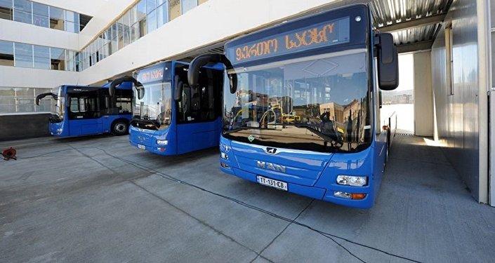 ახალი ავტობუსები თბილისში