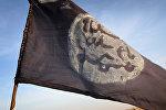 Флаг радикальной исламистской группировки Боко Харам