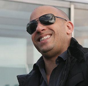 Голливудский актер Вин Дизель