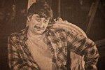 Портрет актера Гиви Берикашвили в фойе театра Марджанишвили
