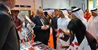 Министр образования Грузии Александр Джеджелава на выставке в Дубаи