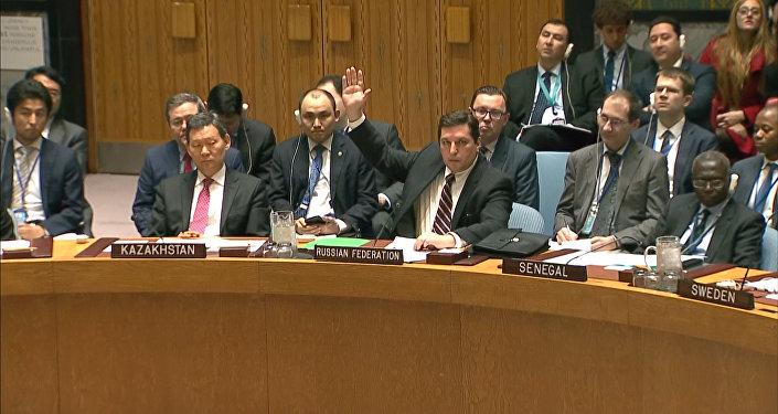 Россия заблокировала проект резолюции по Сирии в Совете безопасности ООН