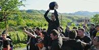 Игра в лело в селе Шухути