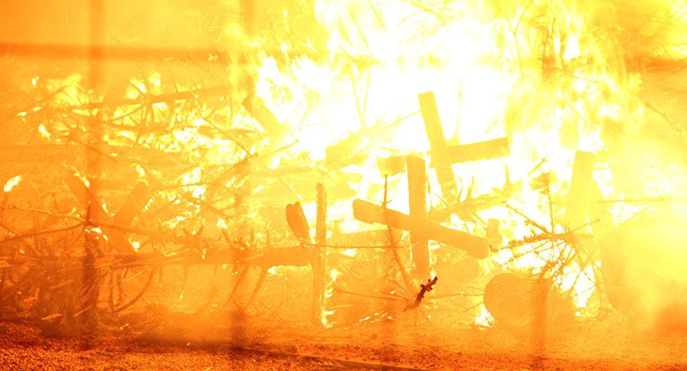 Пожар. Огонь