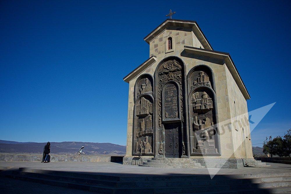 ეკლესია საქართველოს ისტორიის მემორიალის ტერიტორიაზე