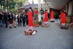 Перформансом в честь Софико Чиаурели открылась Неделя моды в Тбилиси