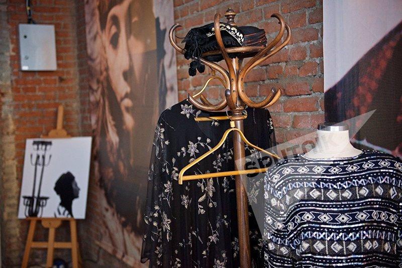 Личные вещи Софико Чиаурели, представленные на открытии новой Тбилисской Недели моды