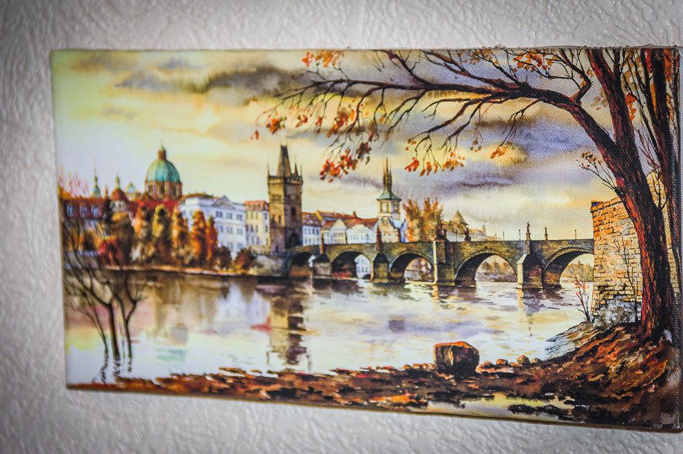 Карлов мост в Праге, картина