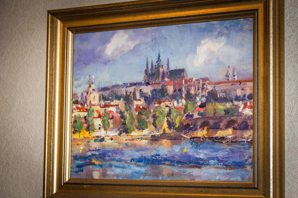 Прага, картина