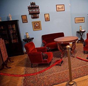 Одна из комнат в Доме-музее дворян Смирновых