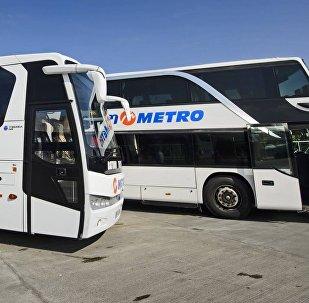 Автобусы компании Metro Georgia