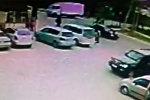 Страшный момент наезда на детей сняла камера на АЗС в Бишкеке
