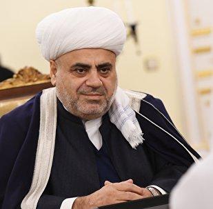 Председатель Управления мусульман Кавказа шейх-уль-ислам Аллахшукюр Паша-заде
