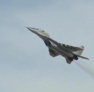 Экипажи МиГ-29 прошли проверку за зимний период обучения
