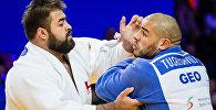 Два борца из Грузии Адам Окруашвили и Гурам Тушишвили участвуют в Чемпионате Европы по дзюдо