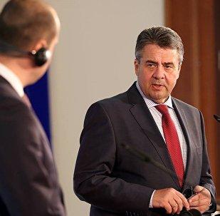 გერმანიის საგარეო საქმეთა მინისტრი ზიგმარ გაბრიელი